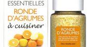 cristaux d'huiles essentielles Ronde d'Agrumes