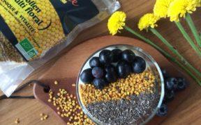 recette pollen multi floral dietaroma