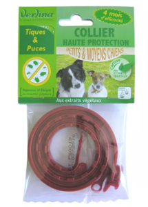 Collier et pipettes insectifuges Verlina